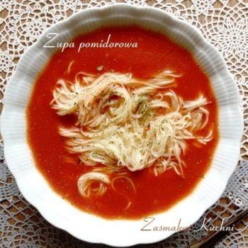 Zupa pomidorowa ze świeżych pomidorów