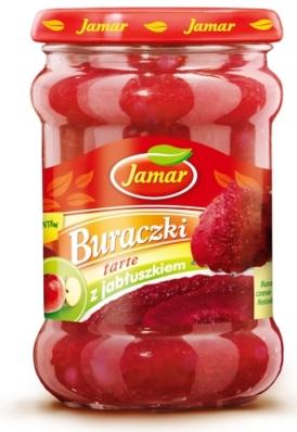 Buraczki tarte z jabłuszkiem Jamar
