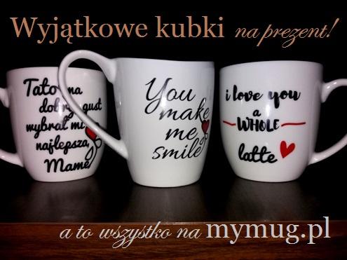 Mymug.pl – wyjątkowe kubki z napisami, pomysł na prezent