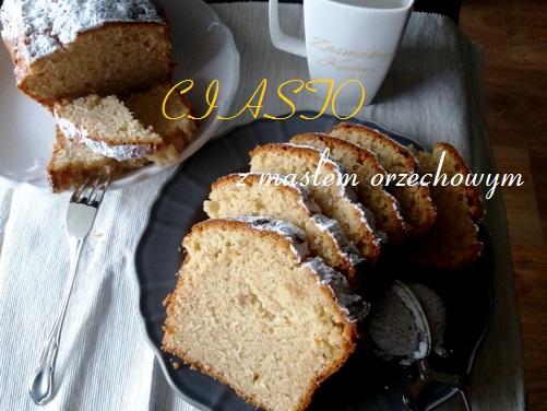 Ciasto z masłem orzechowym