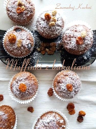 Muffinki z bakaliami Helio