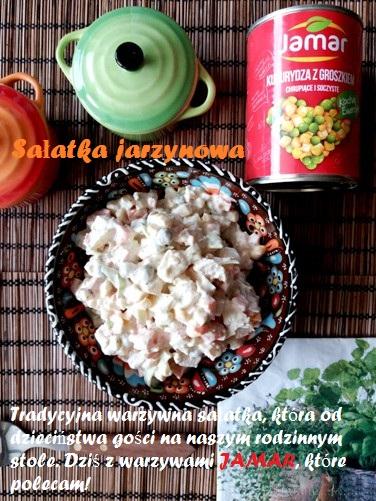 Sałatka jarzynowa z warzywami Jamar