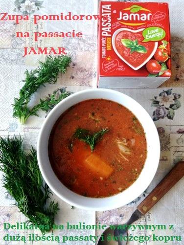 Zupa pomidorowa na passacie Jamar