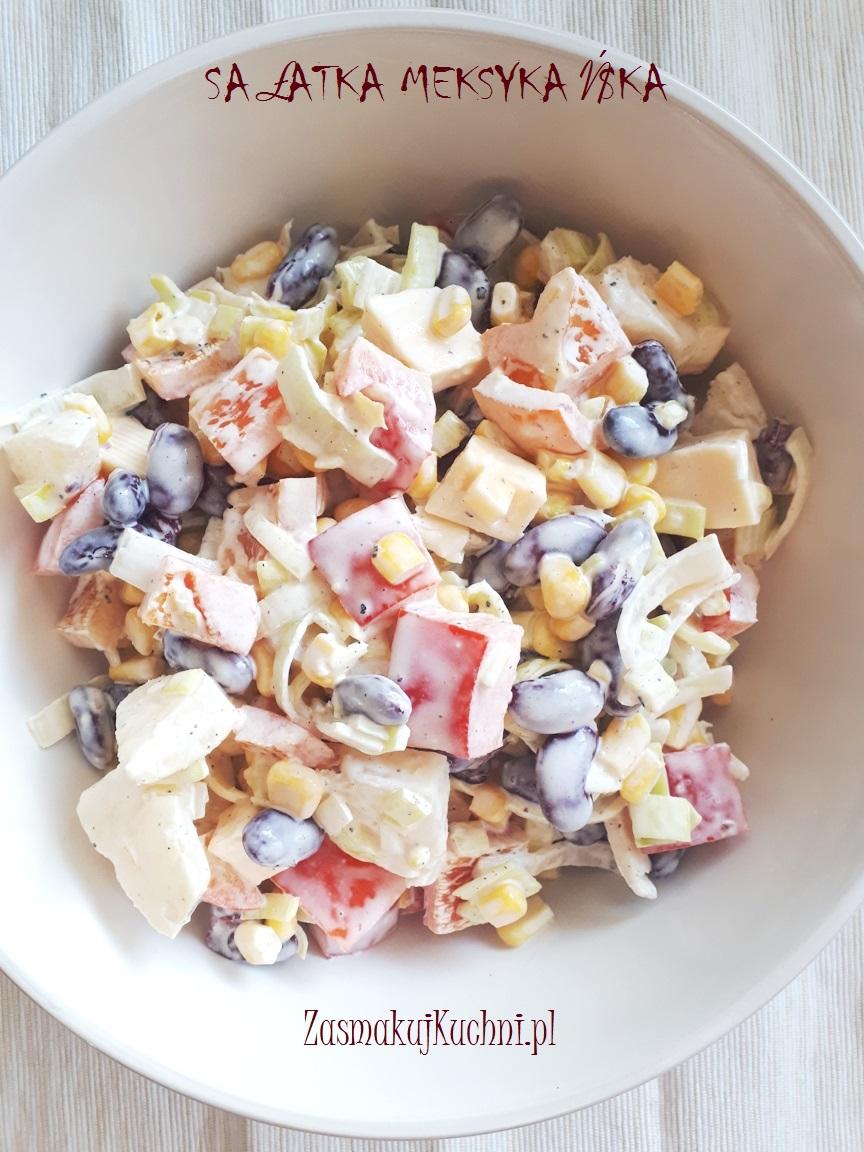 Salatka Meksykanska Zasmakuj Kuchni