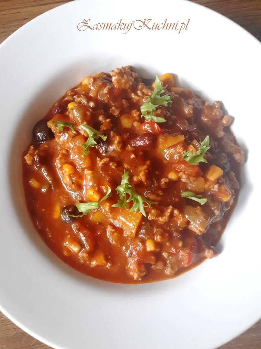Zupa Meksykańska Z Oliwkami Na Ostro Zasmakuj Kuchni