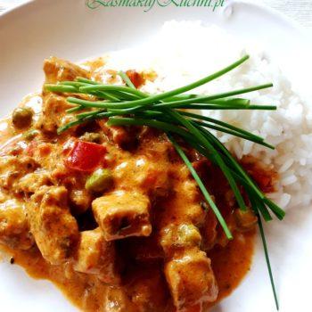 Curry z kurczakiem, papryką i dynią